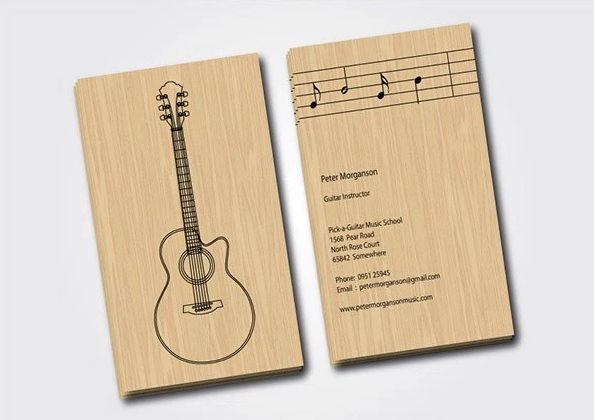 28 Musician Business Card Design You Must See Musician Business Card Business Card Design Music Business Cards