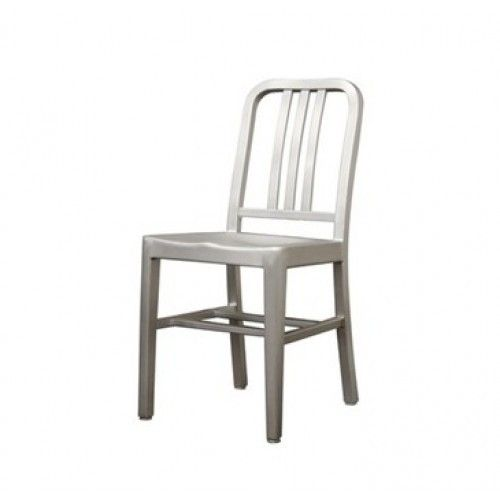 Delightful Classic Design Navy Chair Aluminum Dining Chair Reproduction New Modern |  EBay
