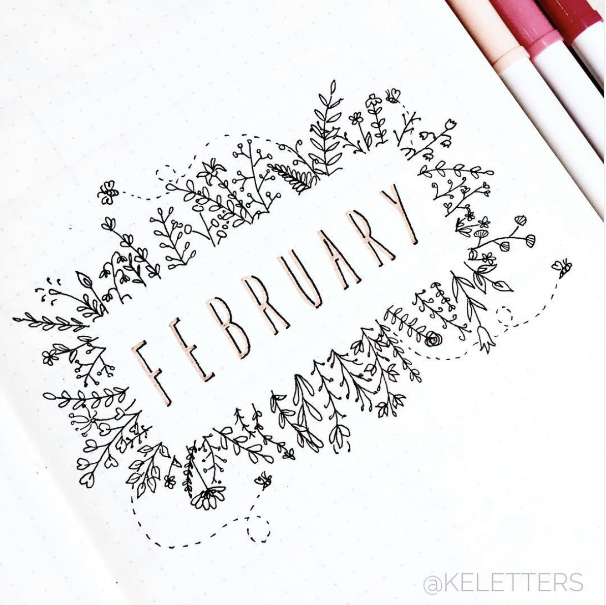 Photo of 20+ Best February Bullet Journal Cover Page Ideas – The Smart Wander