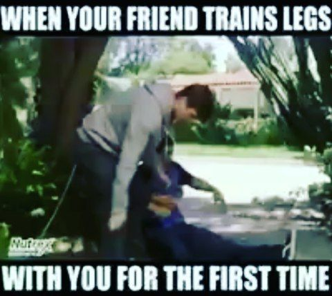 Leg Day!! . . #fitness #gym #fit #workout #fitfam #gymhumor