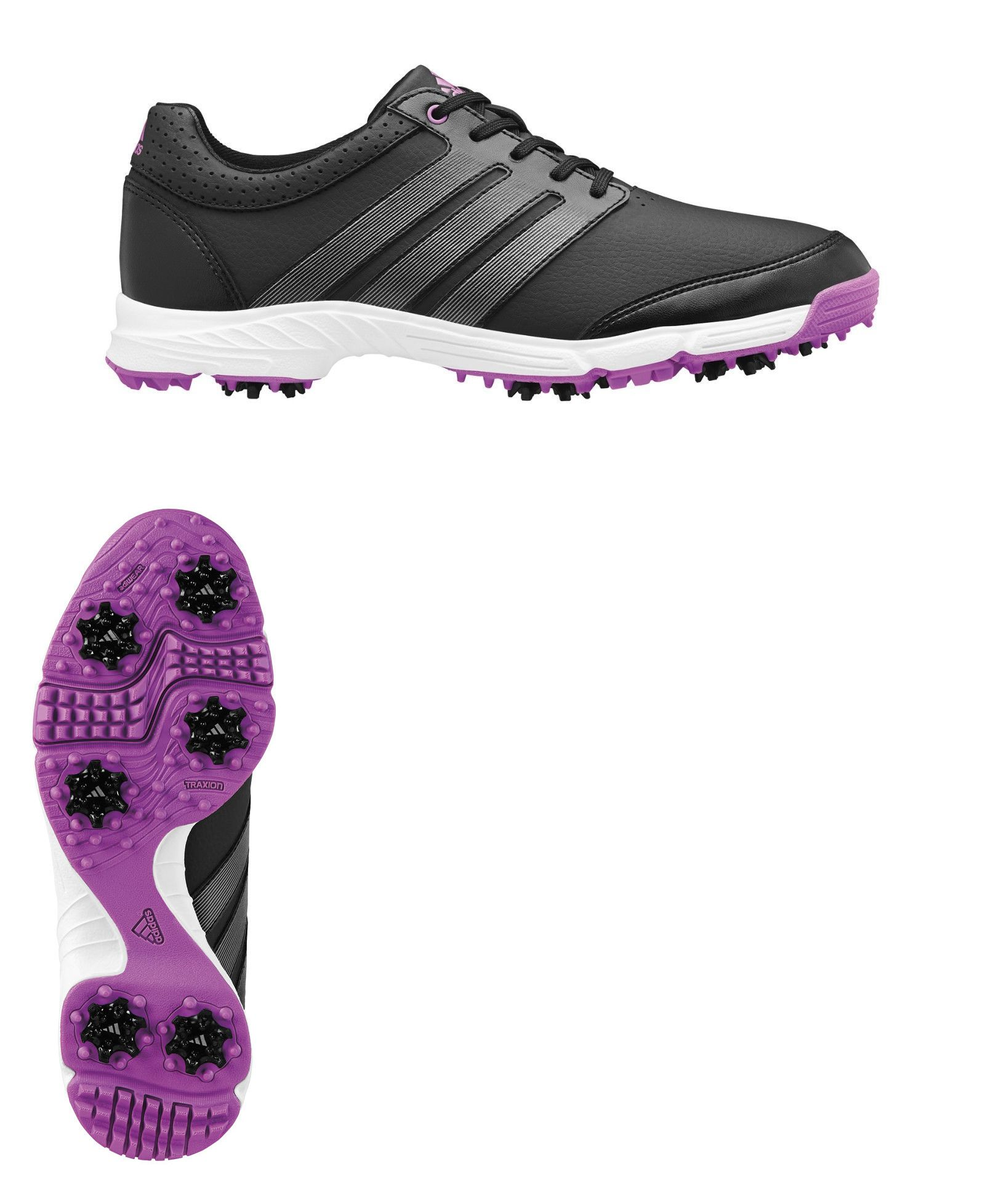 ec554f58deb Golf Shoes 181147  C O Womens Adidas Wresponsie Light Q47066 Blk Iron Pink Golf  Shoes 9