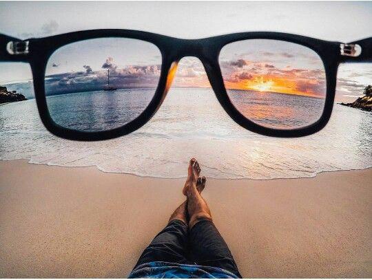 Through my eyes-glasses