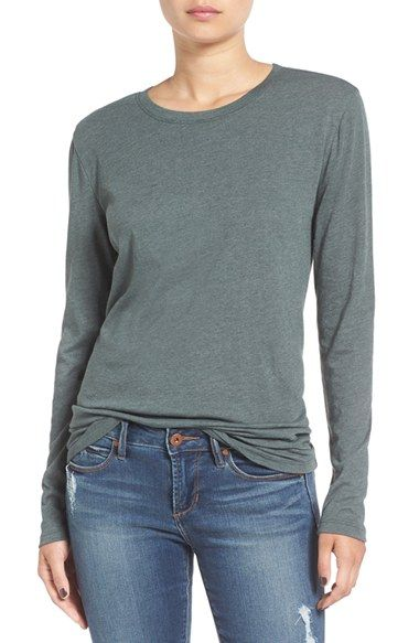 Free shipping and returns on BP. Long Sleeve Crewneck Tee at Nordstrom.com. A breezy, body-skimming basic made from a soft cotton blend, this long-sleeve tee looks great solo or layered.