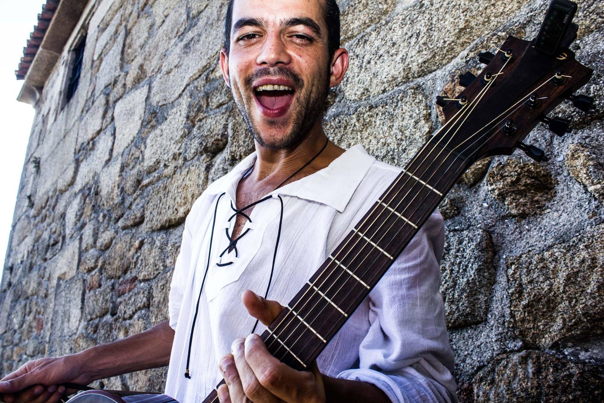 Rubén Artabe, músico ferrolano
