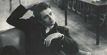 James Dean in 1954, by Roy Schatt