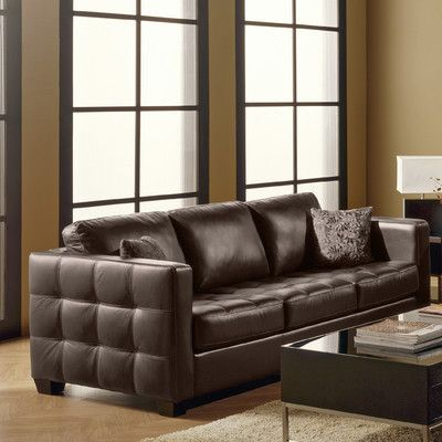 Palliser Furniture Barrett Leather Modular Sofa Finish: Bonded Leather    Champion Alabaster, Upholstery: