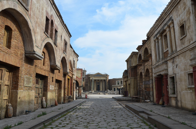 реконструкция улиц древнего рима фото чем предпринять