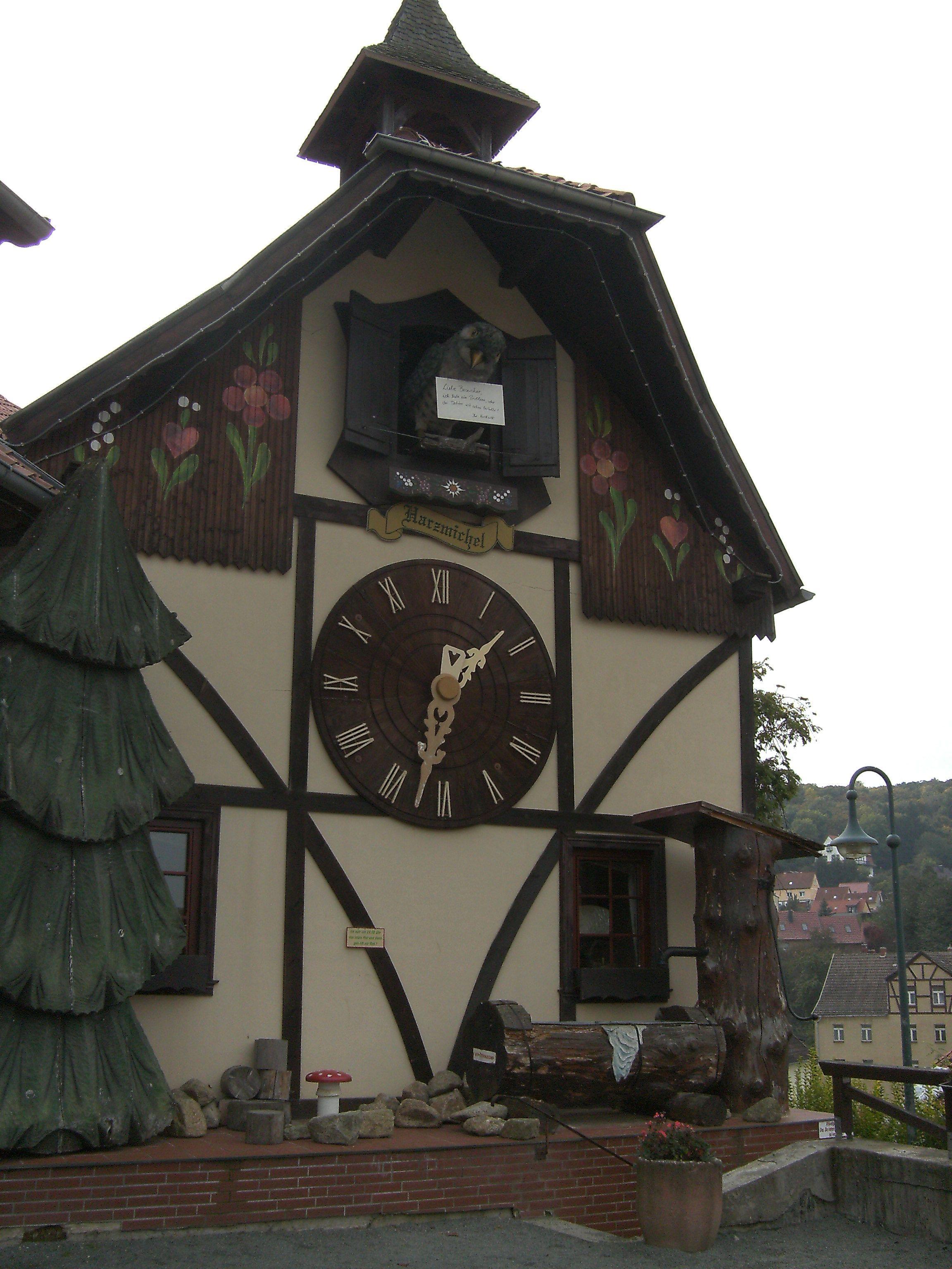 Grootste koekoeksklok van Noord-Duitsland : Gernrode.