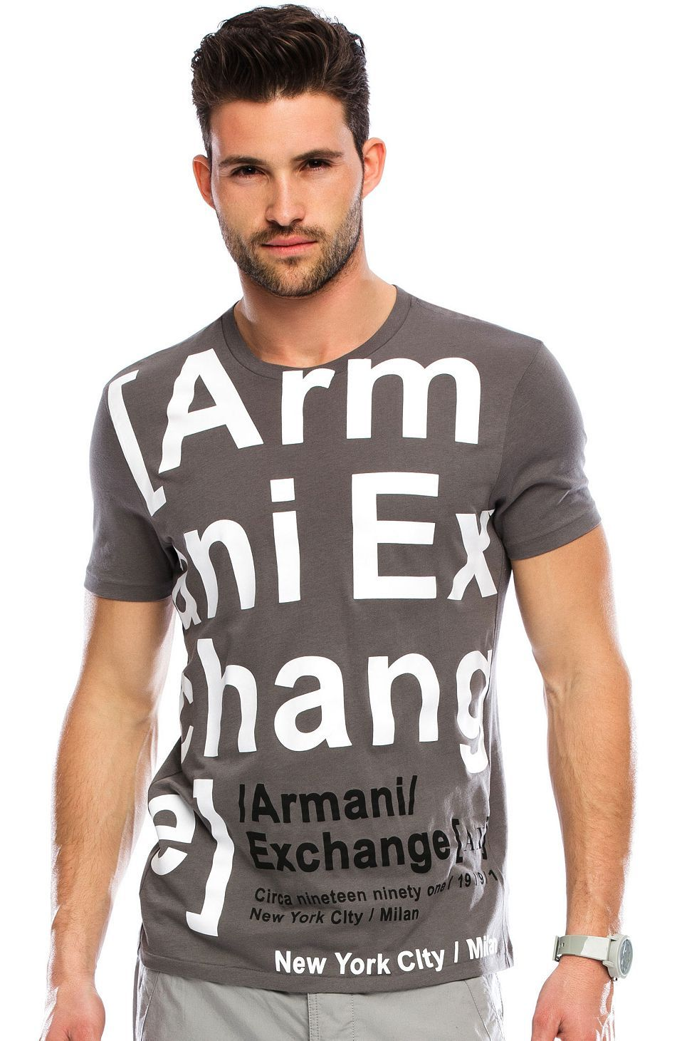 Armani Exchange Online Store   Clothing & Accessories for Men and Women.  Men's FashionFashion GraphicLogoOutfitT ShirtsProduct DevelopmentStyle Giorgio ...