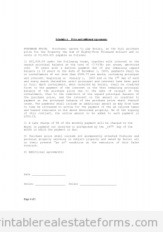 Free Contract For Deed Printable Real Estate Forms  Printable