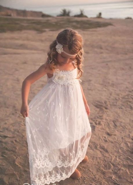 06628cadf 21 Airy And Beautiful Boho Flower Girl Dresses | Inspiration in 2019 ...