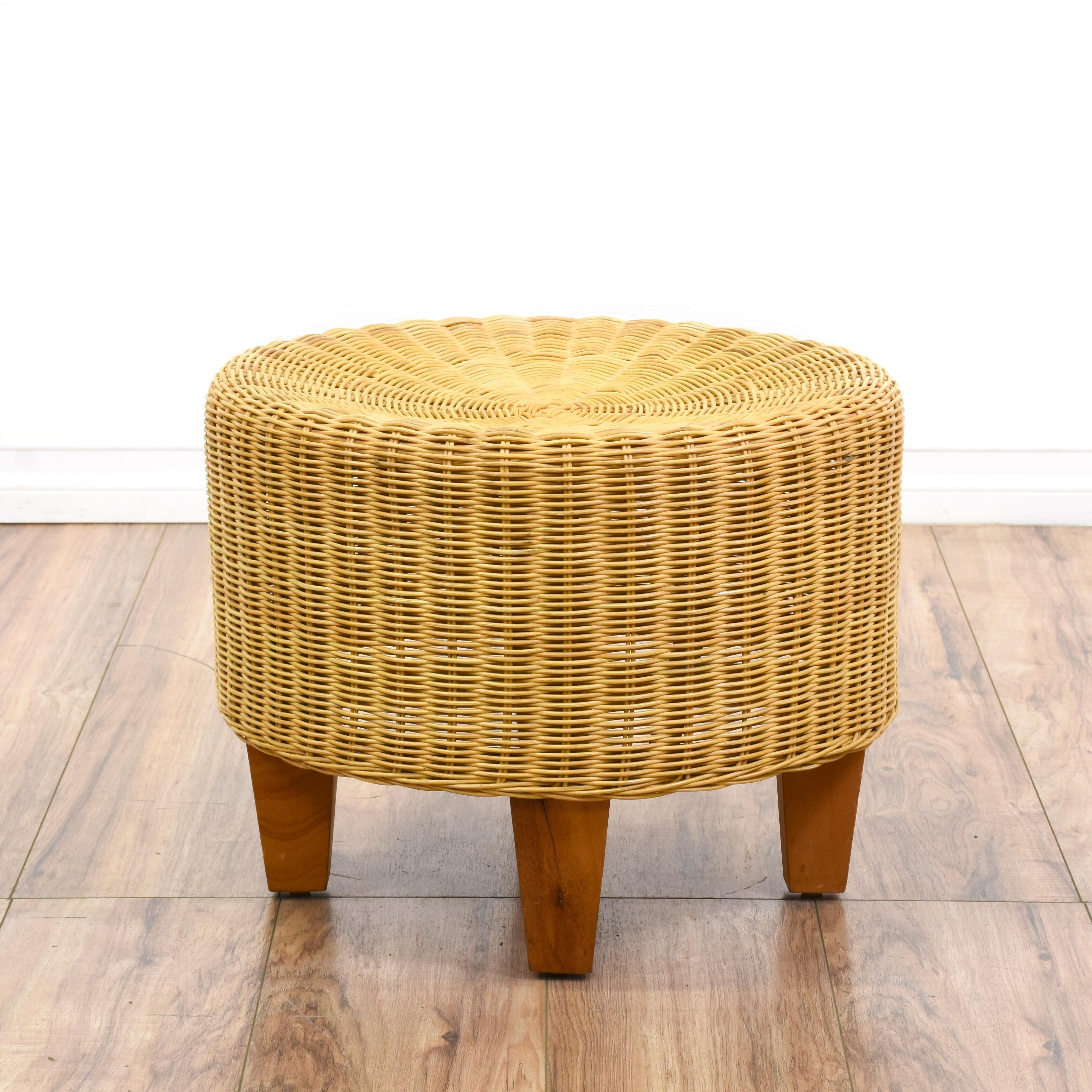 21 Best Collection Round Wicker Ottoman Home Decor And Garden Ideas Wicker Ottoman Ottoman Footstool Leather Ottoman Coffee Table [ 3360 x 3360 Pixel ]