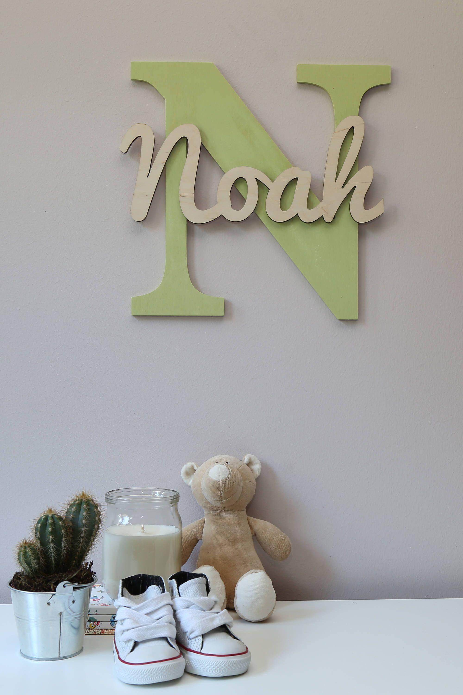 Holzerne Buchstaben Baby Kinderzimmer Wand Hangende