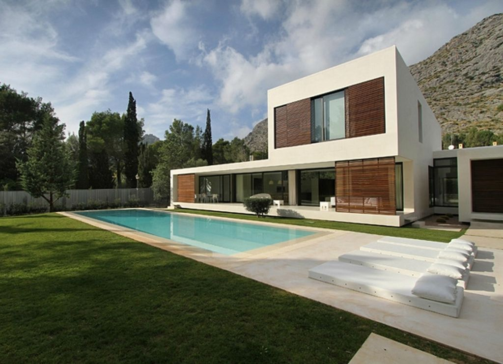 Superior Exceptional Creativity Minimalist Dream House With Contemporary Architecture