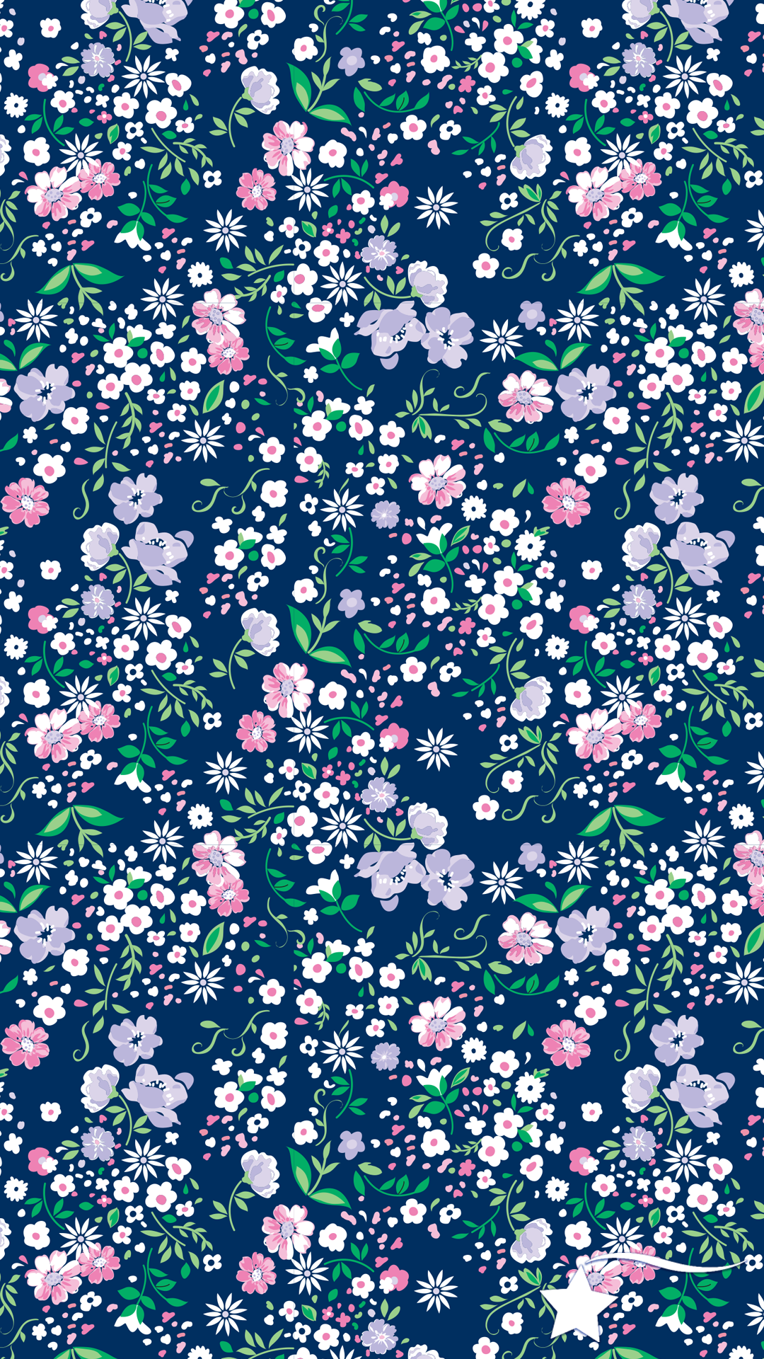 Destira Phone Wallpaper To Match Our Ditsy Floral Woven Back Leotard Flower Phone Wallpaper Floral Wallpaper Flower Wallpaper