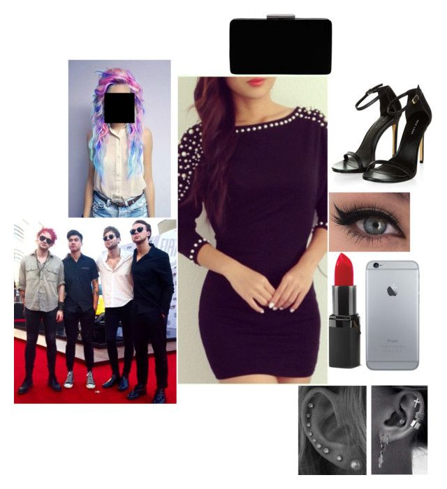 """""""AMA'S with 5sos"""" by infinitygangster ❤ liked on Polyvore featuring Barry M and John Lewis"""