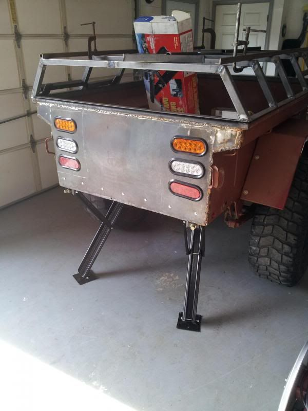 What are you using for stabilizers/levelers on your trailer