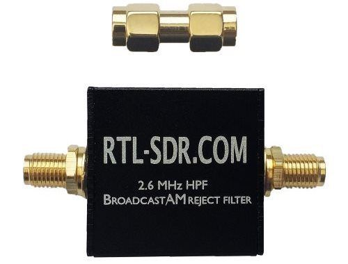 RTL-SDR com Broadcast AM Block High Pass Filter Now for Sale