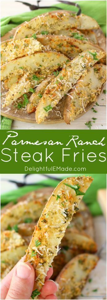 These crispy, oven-baked fries will be a new favorite side with everyone in your... #russetpotatorecipes These crispy, oven-baked fries will be a new favorite side with everyone in your... -  - #Crispy #favorite #fries #ovenbaked #side #kartoffeleckenbackofen