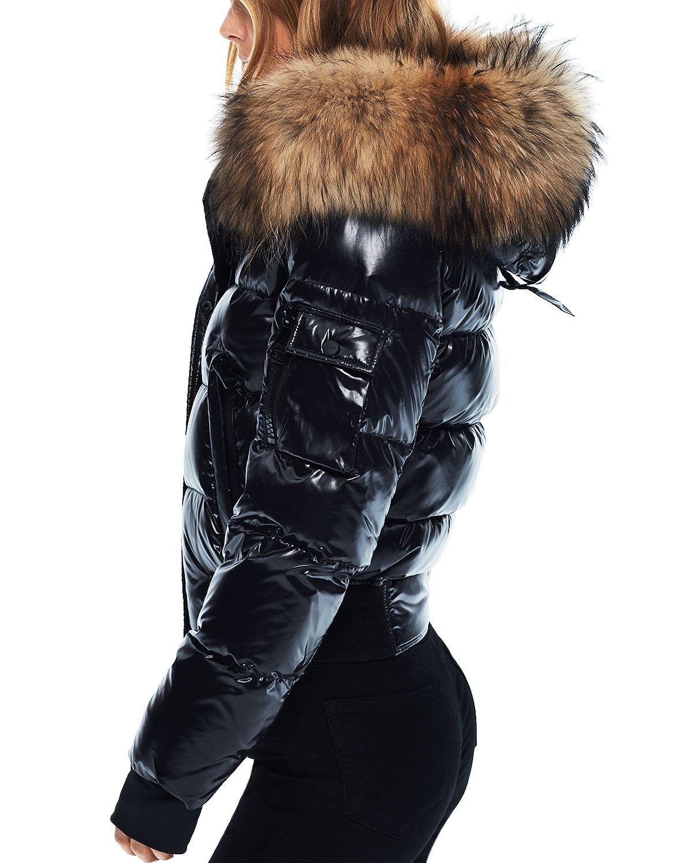 Sam Bungalow Hooded Puffer Coat Women Bloomingdale S Fur Hood Jacket Moncler Jacket Women Fur Hoodie [ 1500 x 1200 Pixel ]