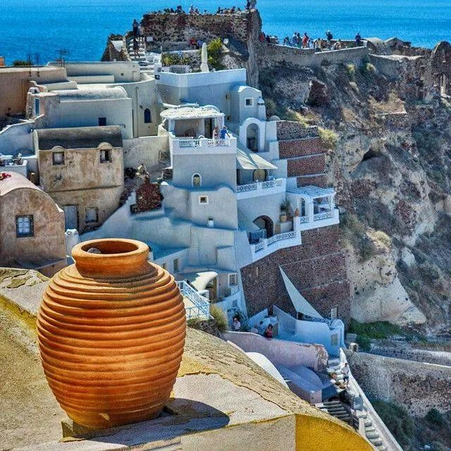 Another view of Santorini-Oia