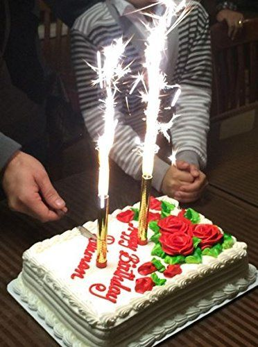 Amazoncom Big Birthday Cake Candles Other Products Happy