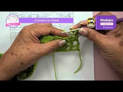 Blusa Hojas verde limón parte 1 - YouTube