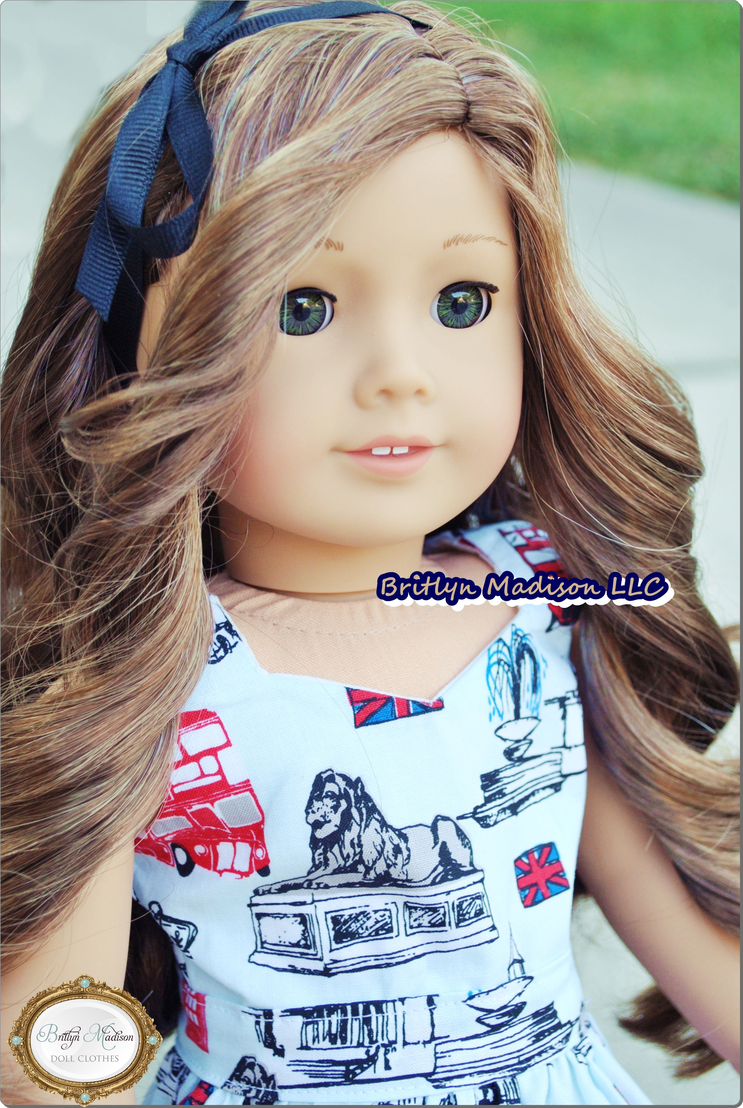 Retired Grace American Girl Doll Sweet Hairstyle Set NEW!