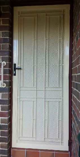At AAA We install and repair of range of aluminum security doors in Melbourne for & At AAA We install and repair of range of aluminum security doors in ...