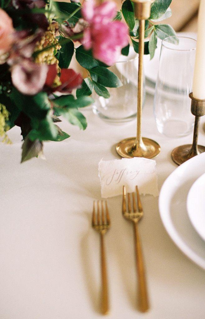Organic Minimal Wedding Inspiration | Martha Hatfield Design