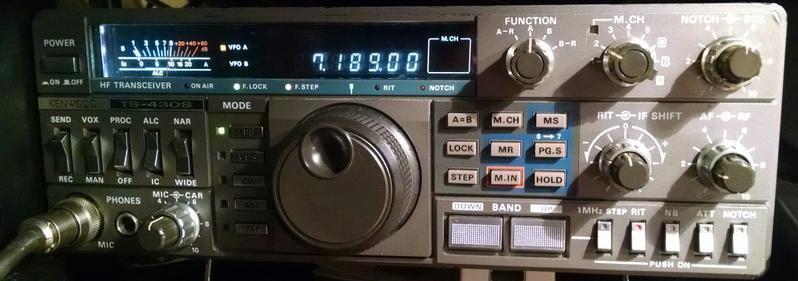 Ham Radio, Kenwood TS-430S, Amateur Radio | Ham Radio | Kenwood