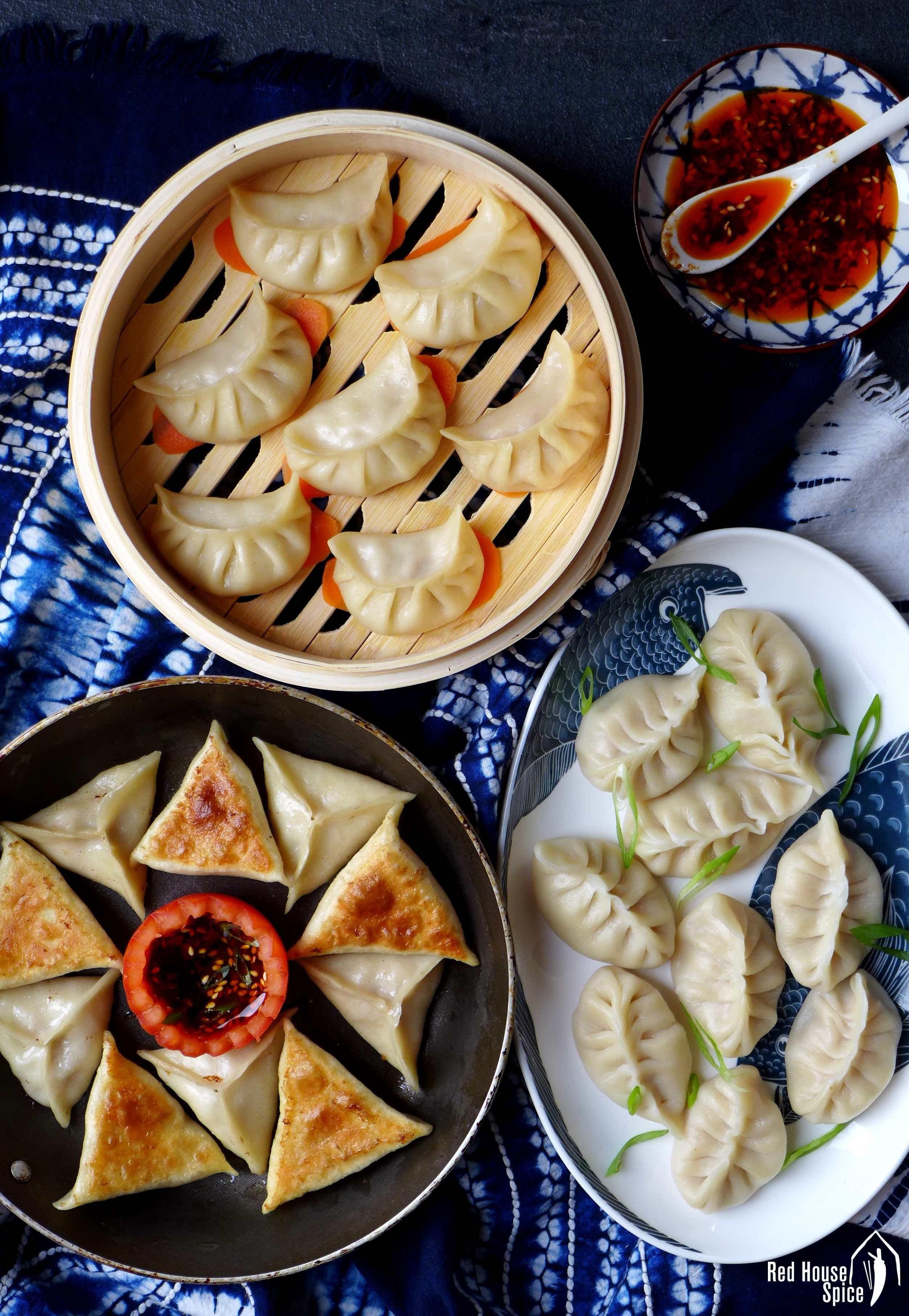 Cook dumplings in three ways recipe how to cook