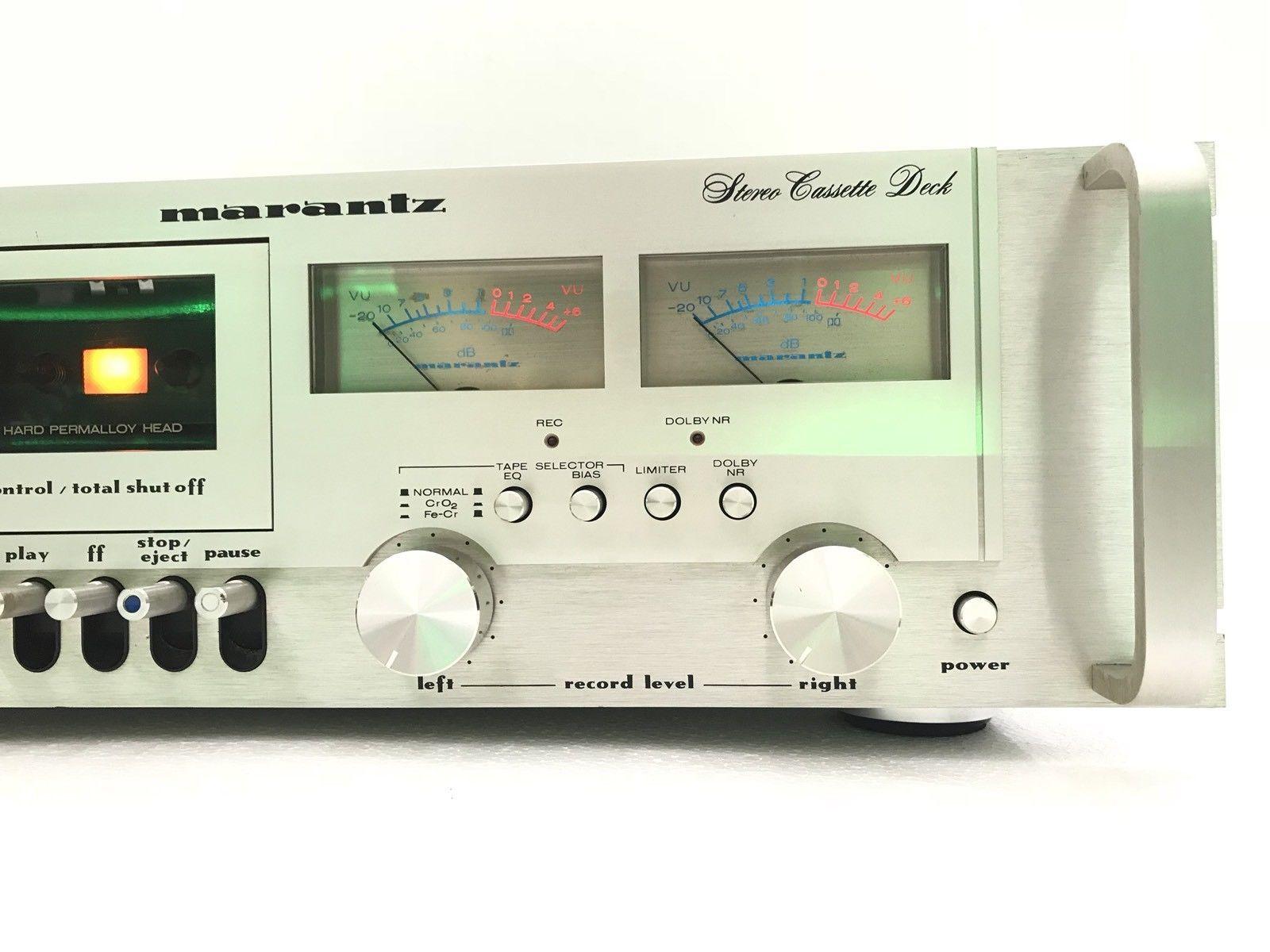 MARANTZ 5010B Stereo Cassette Deck Rare Original Rack