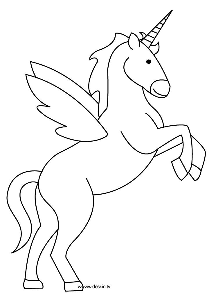 Coloring Unicorn Unicorn Coloring Pages Unicorn Drawing Horse Coloring Pages