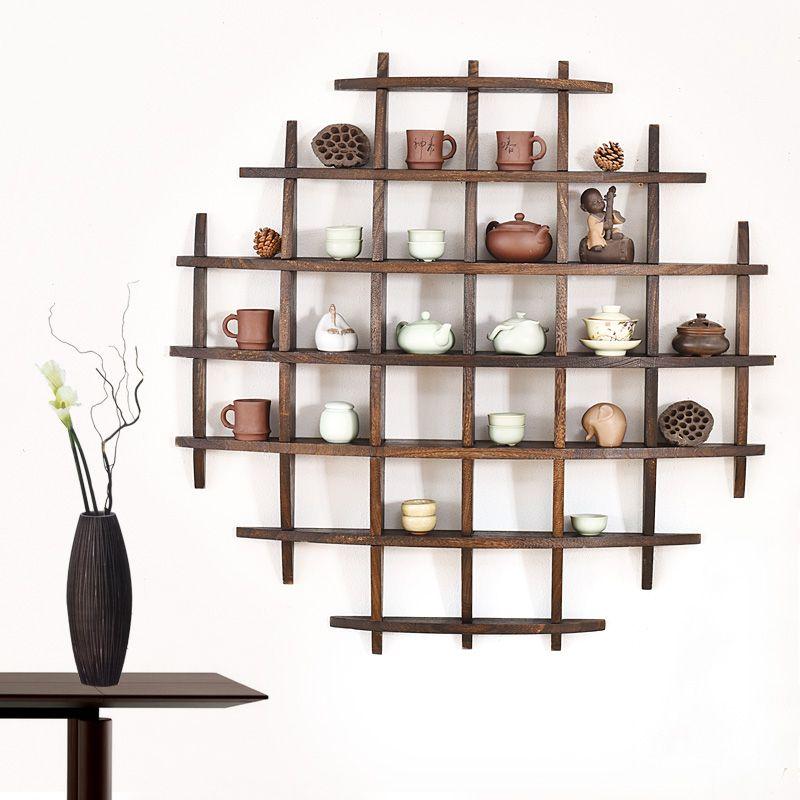 Anese Teacup Rack Hanging Wall Bogut Tea Set Display