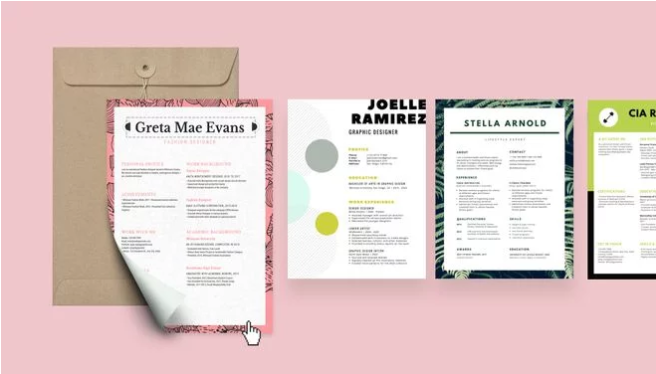 With Canva's free resume builder, applying for your dream