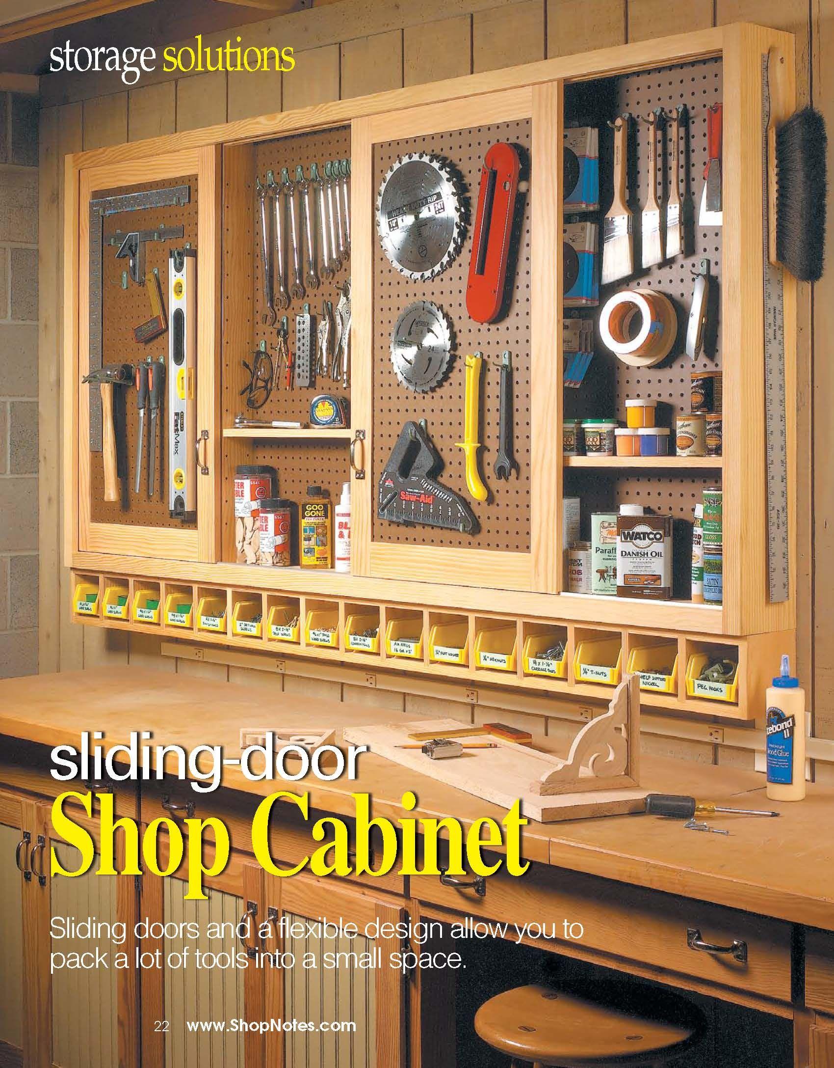 Shop Cabinet  Garage Storage Ideas in 2019  Shop
