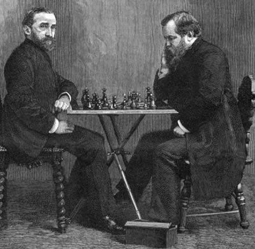 Steinitz vs Zukertort - El Ajedrez de ayer y de hoy