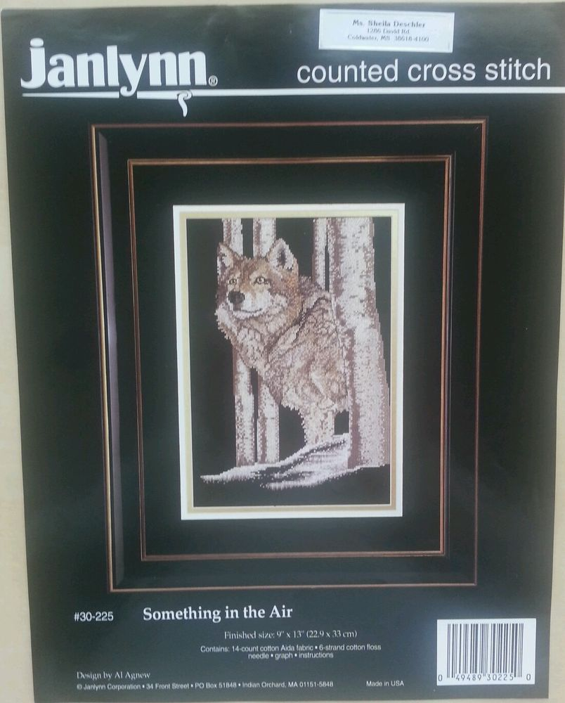 Something In The Air Counted Cross Stitch Not A Kit Instruction & Chart Only