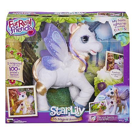 Kmart Com Fur Real Friends Unicorn Stuffed Animal Unicorn Kids