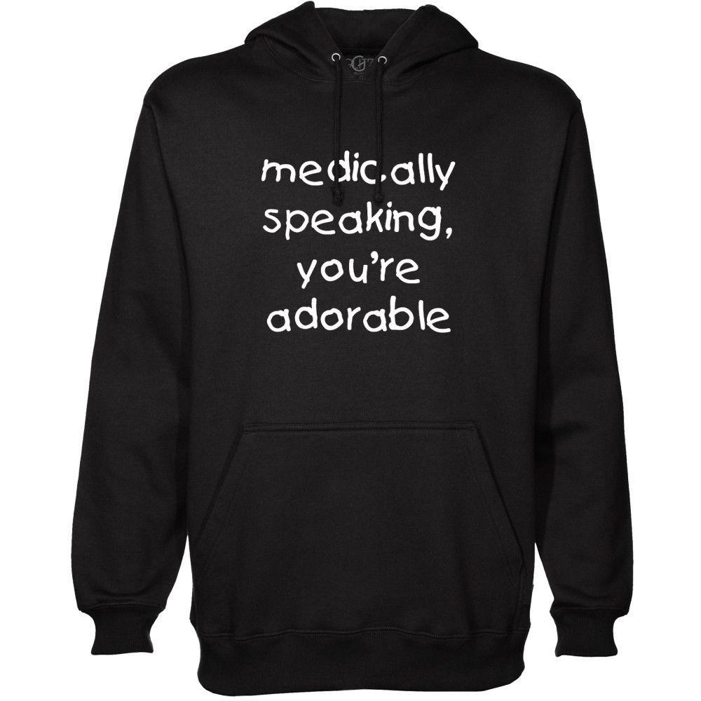 Medically Speaking Pullover Hoodie , Men's Cothing - GLITZ Apparel, GLITZ Apparel - 1