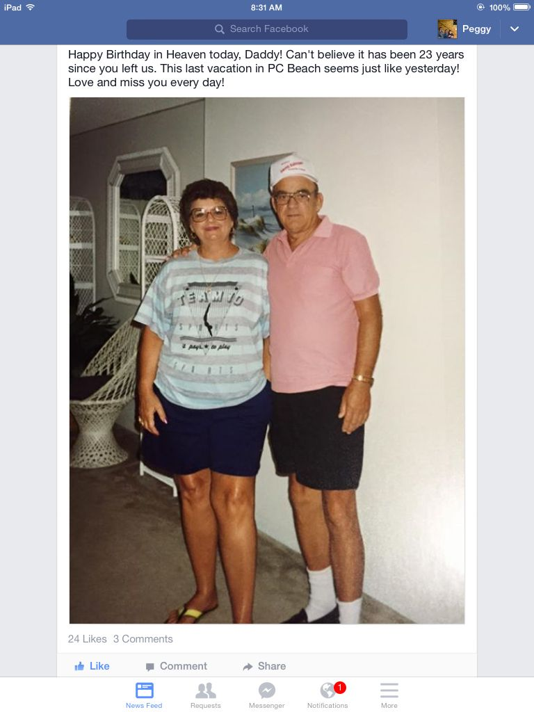 My aunt Mary and uncle Fred my Dad sister