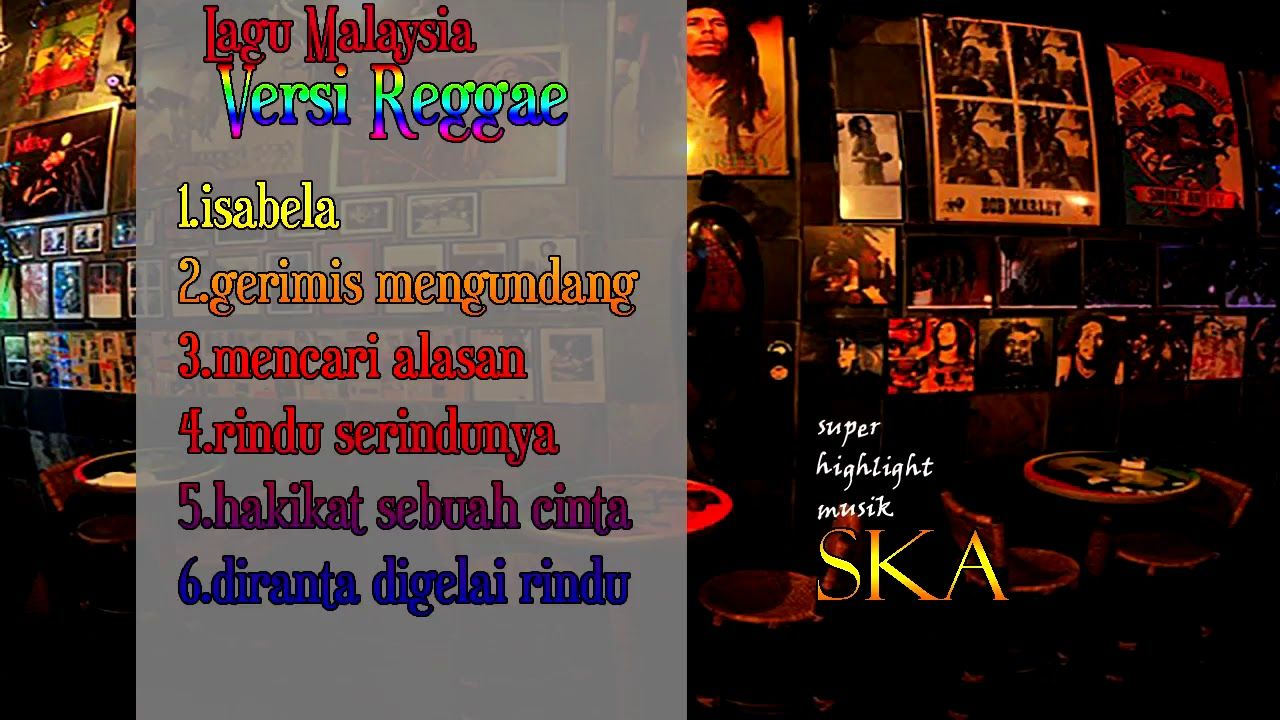 Lagu Malaysia Album Pilhan Versi Reggae Ska Lagu