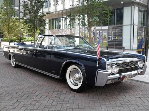 Lincoln Continental Jfk Presidential Limousine Recreation For Sale