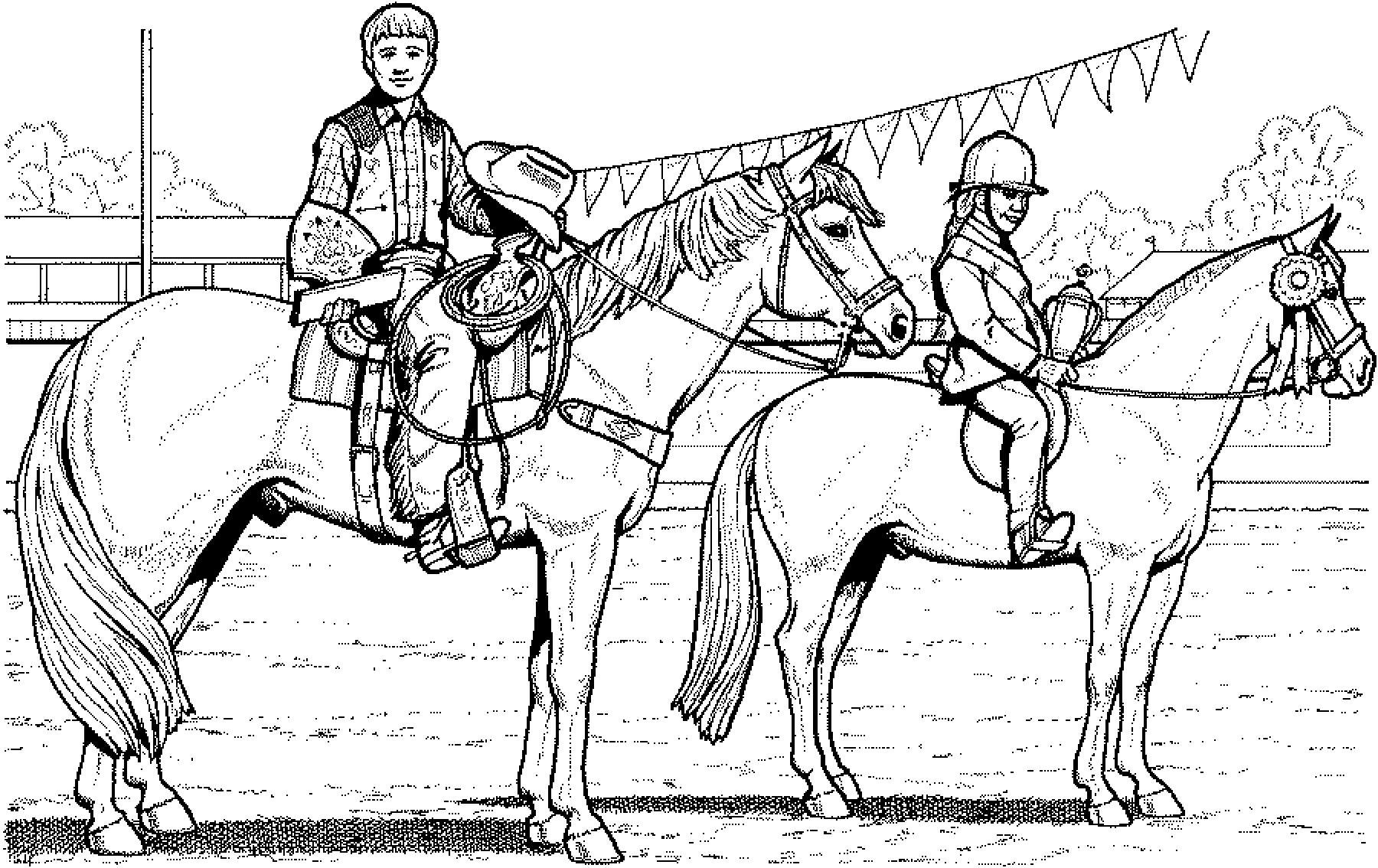 Großartig Malvorlage Pferderennen Fotos - Beispielzusammenfassung ...