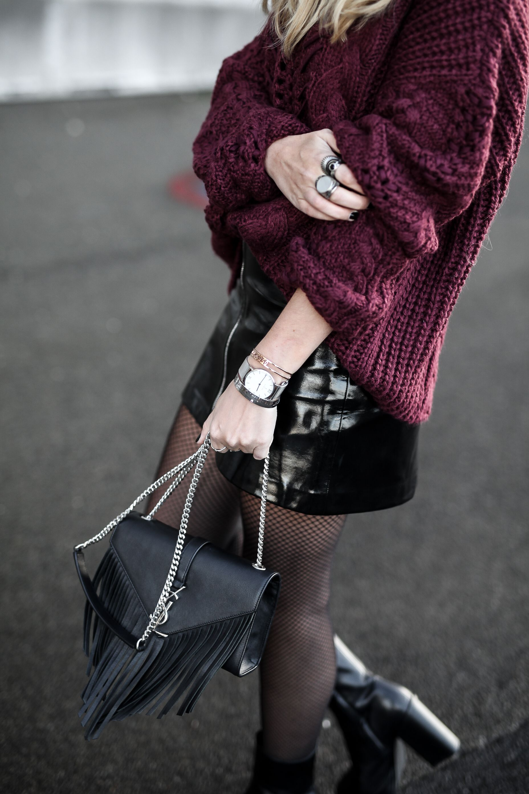 80bb59d63e6 jupe vinyle - Tendance mode hiver 2018  winter  mode  fashion  tendance2018   tendancefemme