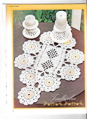 Edivana Croche: Table Runner