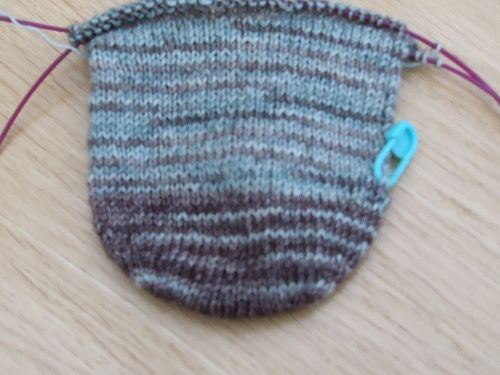 Ravelry Seam Free Rounded Toe For A Toe Up Sock Pattern By Lynne