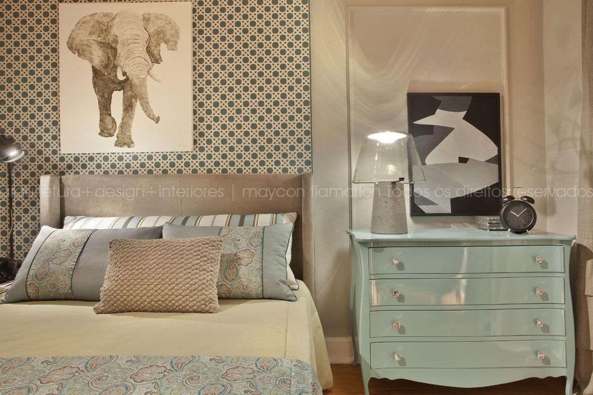 Maycon Flamarion Arquiteto Projetos Design De Interiores  ~ Quadros De Tecido Para Quarto E Quarto Pequeno Para Casal