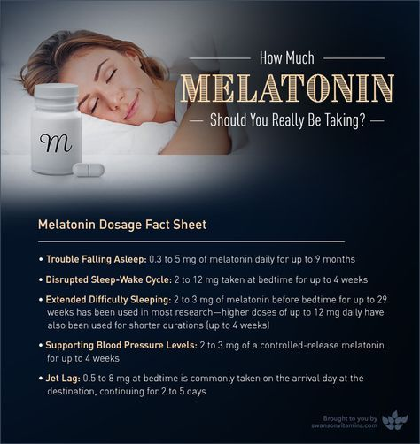 Melatonin Dosage: How Much Melatonin Should You Really Be